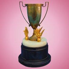 1930's Major League Baseball Presentation Trophy Goldsmith Brothers Cincinnati
