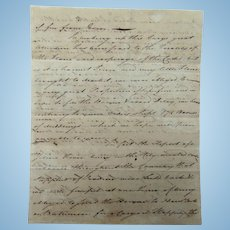 Willing's and Francis Philadelphia merchant Letters 1801 GREAT CONTENT