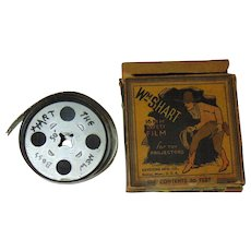 William S.Hart 16mm Silent Film in original box