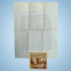 JFK Assassination Conspiracy Letter from Galveston,Texas Woman MUST READ