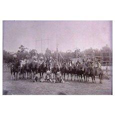 Buffalo Bill's Wild West Show  Cheyenne & Apache Warriors Photographs