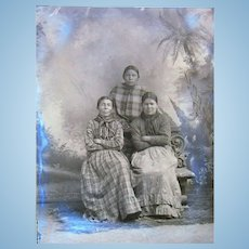 1880's Doc Carver's Wild West Show Photographs Brule Sioux Native American Indians