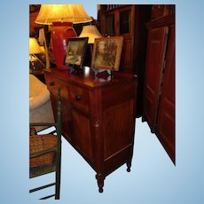 Museum Quality Southern 1840's American Cherry Sideboard Cupboard