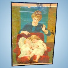 1890's Chromatography General Store Medical Advertising Poster