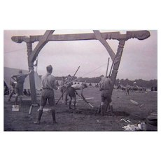 1936 Boy Scout Jamboree in  Finland Collection of 13 RARE Images