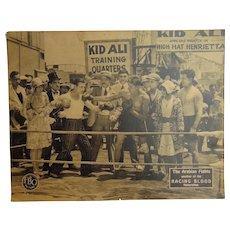 1928 Silent Film Posters Kid Ali in the Arabian Fights