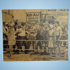1928 Silent Film Posters Kid Ali in the Arabian Fights