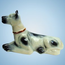 1976 Jim Beam Whiskey Great Dane  Rare First Edition Decanter