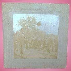 Teddy Roosevelt's 1st Calvary  Span-Am War  Original Photograph INCREDIBLE