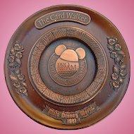 1981 Walt Disney Card Walker Professional National Team Championship Golf Award