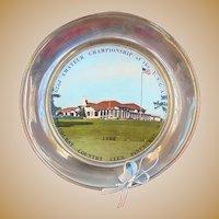 Rare 1962 Amateur National Golf Championship Award Trophy Pinehurst Country Club