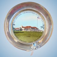 Rare 1962 Amateur National Golf Championship Award Trophy Pinehurst Country Club