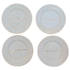 Ford Senior PGA Golf Championship Tiffany & Co. 18kt. Gold Award Plates.
