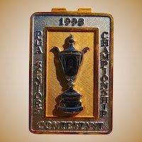 Serious Bling Al Kelley's 1998 PGA Seniors Championship Money Clip