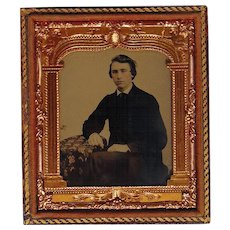 Ambrotype of a Moonstruck Young Man
