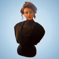 Fabulous 19th Century Wax Department Store Mannequin