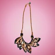 Beautiful Hawaiian Tribal Hand-Made Necklace Pre-World War 2