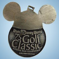 1975 Walt Disney PGA World Golf Classic Actual Players Golf Bag Accessory
