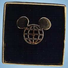 1971 Walt Disney World Golf Classic Players Mickey Mouse Tie Tack
