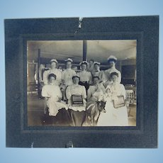 Ralston Breakfast Cereal Girls KILLER Cabinet Photograph