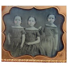 The Three Sisters of Life Ambrotype