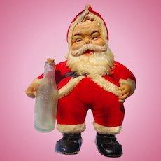 1950's The Rushton Company Coca Cola Santa Claus Vintage Coke