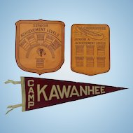 1930's Camp Kawanhee Maine Keepsakes Weld,Maine