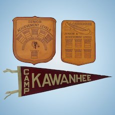 1930's Camp Kawanhee Maine Keepsakes Weld,Maine