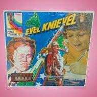 Hasbro Evil Knievel Color-Vue Pencil Coloring Set
