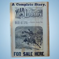 Civil War Broadside Sherman's March to the Sea