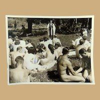 Sunny Trails  Nudist Colony Surrey,British Columbia 1969 during Spiritual Services