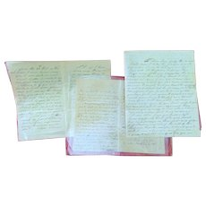 Incredible Civil War Black Solders Letters Clay County,Ky Elisha Stivers died on Hospital Steamer