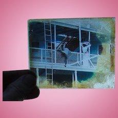 Silent Film Era Theater Glass Movie Slides