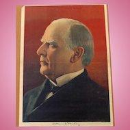 William McKinley Campaign Poster