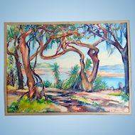 Elizabeth Boardman (E.B.) Warren (American, 1886-1980) Matanzas River on Vaill Point St. Augustine,Florida