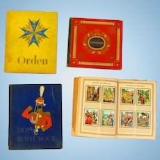 Collection of Pre-World War 2 German Tobacco Cards in Albums