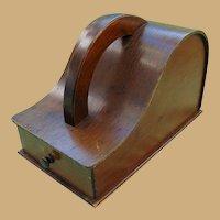 Exceedingly rare early Masonic American Ballot Box Blackballing