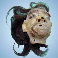 Homer Tate Freak Show Shrunken Head in original Presentation Box