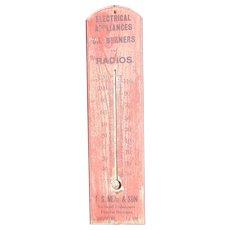 T.S.Neal & Son Funeral Director Embalmer & Radio Salesman Gorham,Maine Thermostat