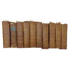 RARE Bound Volumes of the  London Magazine or Gentlemen's Monthly Intelligencer 1763-1777