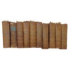RARE Bound Volumes of the  London Magazine or Gentlemen's Monthly Intelligencer 1763-1777