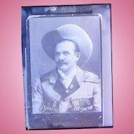 Original 1870's Photo of Gunslinger Sharpshooter Buffalo Bill Performer