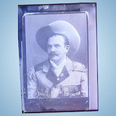 Original 1870's Photo of Gunslinger Sharpshooter Buffalo Bill Performer