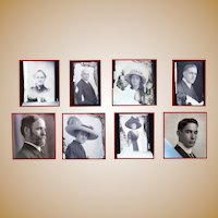 RARE Collection of Decatur, Illinois Photographer C.L.Wassen's Glass Negatives c.1899-1917