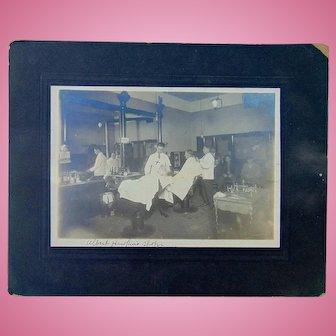 The Barber Shop of Albert  Hawkins Cedaredge,Colorado