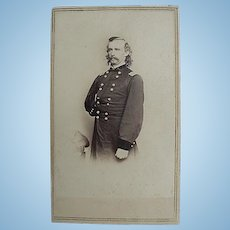 Matthew Bardy CDV of Major General George Armstrong Custer
