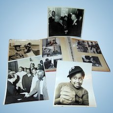 Photographic archive of affluent African-American family of one Raymond Charles,Jr. and Cap Calloway.
