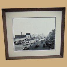 Baltimore Light Street Pavilion in Full Motion 1901 Photograph