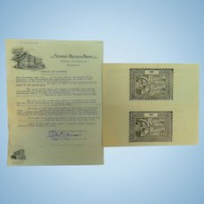 1944 Barnum & Baily Circus Contract with City of Bainbridge,Georgia Mike Pyne Agent