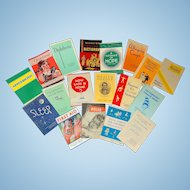 For the Health minded Ruby Lane Shopper~1930's Wellness Booklets